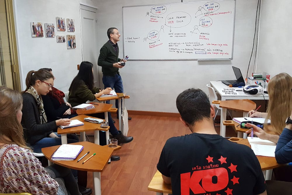 Spanish language school
